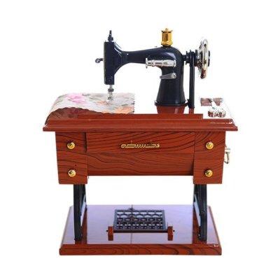 WALMART: Tuscom Vintage Music Box Mini Sewing Machine Birthday Gift Table Decor $21 (Was $41) + FREE Shipping