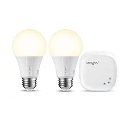 BEST BUY: Sengled Smart LED Soft White A19 Starter Kit (2-Pack) For $29.99 (Reg.$39.99)+Free Shipping On Orders $35+