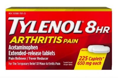 WALMART: Tylenol 8 Hour Arthritis & Joint Pain Acetaminophen Tablets, 225 ct $16.97