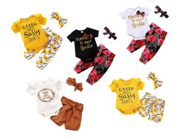 AMAZON: Toddler Girl Outfit for $7.49-$10.49 Shipped! (Reg. Price $14.99-$20.99)