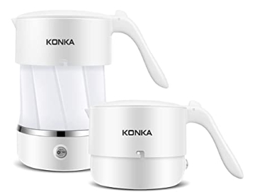 AMAZON: Travel Foldable Electric Kettle for $14.99 (Reg. Price $29.99)
