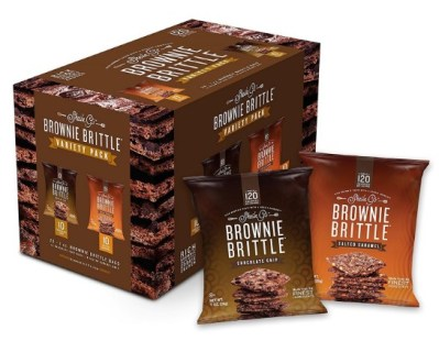AMAZON: Brownie Brittle, Salted Caramel & Chocolate Chip Variety Pack, 1 Oz Bag (Pack Of 20) $15.19
