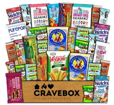 AMAZON: CraveBox Healthy Care Package (30 Count) – CHECKOUT VIA SUB & SAVE!