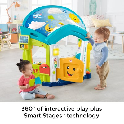 WALMART: Fisher-Price Laugh & Learn Smart Learning Home Playset For $99.99 (Was $149) + Free Shipping