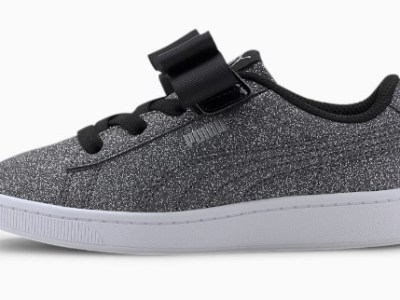 PUMA: Vikky v2 Ribbon Glitz Little Kids' Shoes $20.99 (Reg $50.00)