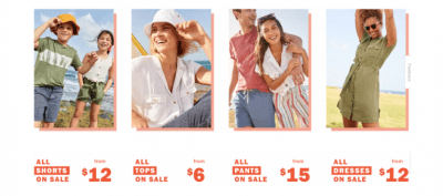 OLD NAVY: Online Only Everything On SALE $25 Or Less!