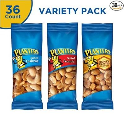 AMAZON: PLANTERS On-the-Go Nut Snacks, 36 Variety Packs