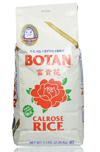 AMAZON: Botan Musenmai Calrose Rice, 5 Pound $5.82