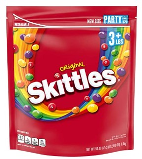 AMAZON: Skittles Original Fruity Candy Party Size Bag $8.53 via SUB & SAVE!