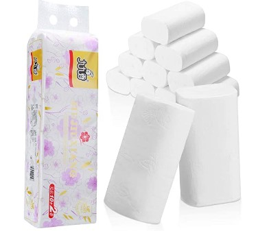 AMAZON: Housmile Toilet Paper 24 Rolls Ultra-soft & Strong – 50% OFF!