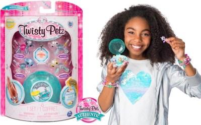 WALMART: Twisty Petz 4-Pack Collectible Bracelet Set for Kids ONLY $5.97 (Reg $10)