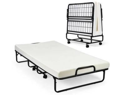 UNTIL GONE: 4-inch Memory Foam Mattress Roll-a-Way Bed, JUST $237.99 (Reg $439.99)