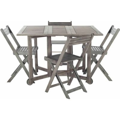 WALMART: Safavieh Arvin Outdoor Table with 4 Chairs, Grey Wash $328.77 (Reg $367.83)