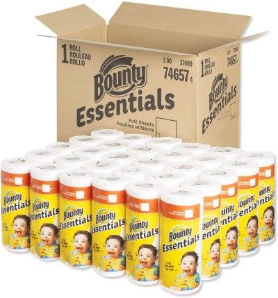 AMAZON: Bounty 2847069 Full Sheet Kitchen Rolls Paper Towels 2-Ply 40 Sheets/Roll