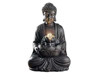 MICHAELS: 19? Stone Tabletop LED Buddha Fountain By Ashland® For $29.99 (Was $100) + Store Pickup!