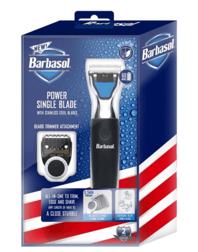 BEST BUY: Barbasol Rechargeable Power Single Blade Wet Dry for $24.99 + Free Store Pickup! (Reg. Price $39.99)