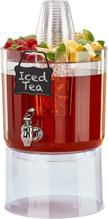 AMAZON: Buddeez 1.75 Gallon Party Clear Beverage Dispenser ONLY $14.88