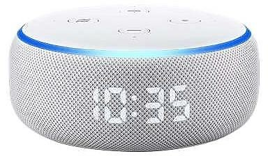 STAPLES: Amazon Echo Dot (3rd Generation) Smart Speaker With Clock For $34.99 ($60) + FREE Shipping!