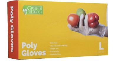 AMAZON: 500pcs Disposable PE Plastic Gloves Rubber Latex Free / Food Preparation $17