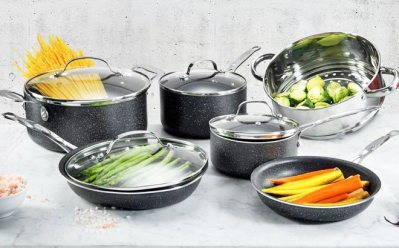 eBay: Granite Stone 10-Piece Nonstick Cookware Set JUST $79.99 (Reg $200)
