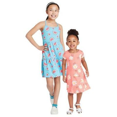 Target: Select Cat & Jack™ Toddlers' And Girls' Knit Dresses Starting At $7