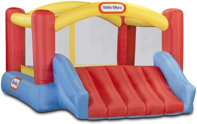 AMAZON: Little Tikes Inflatable Jump 'n Slide Bounce House w/heavy duty blower, JUST $217.71 (REG $279.99)