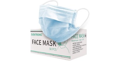 AMAZON: Disposable Mask, Comfortable and Breathable (50 PCS, Blue $13.99 ($20)