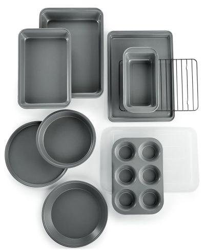 MACY'S: Martha Stewart Essentials 10-Pc. Bakeware Set $26.99 (Reg $60) + Free Shipping!