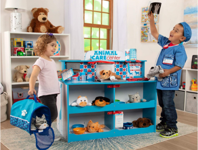 AMAZON: Melissa & Doug Animal Care Wooden Activity Center Only $152.99 (Reg. $230)