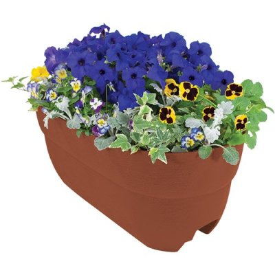 Walmart: Emsco Group 24″ Rail Planter(Color May Vary) For $15.81 (Reg. $19.99)