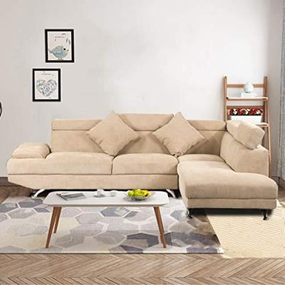 WALMART: Sectional Sofa Living Room Couch For ONLY $549.99