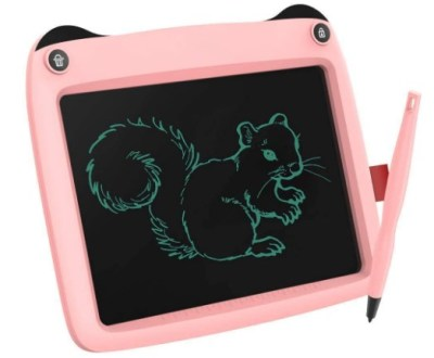 "AMAZON: LCD Writing Tablet, Doodle Board 9"" Electronic Writing & Drawing Board, Kids $10 ($50)"
