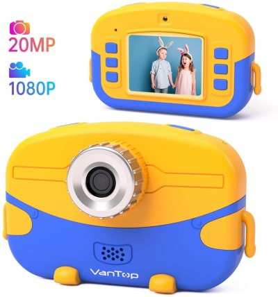 AMAZON: VanTop Junior K6 Kids Camera with 32GB Memory Card, Supports 20.0MP Photo, 1080P HD Digital Video, USE CODE XI562KN9 TO SAVE!