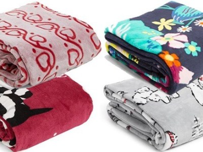 VERA BRADLEY: Throw Blankets From JUST $15 + FREE Shipping (Regularly $55)