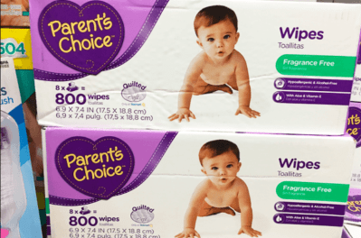 Walmart: Parent's Choice 1,600-Count Baby Wipes for Only $15.00 (Reg. Price $36.00) After Walmart Gift Card