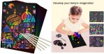 AMAZON: 50 Pce Rainbow Magic Scratch Paper for Kids Scratch Off Art $6.59 (REG. $15)