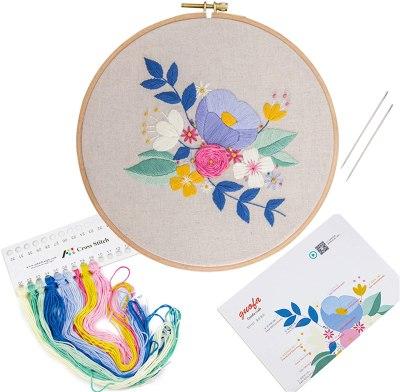AMAZON: Full Range of Handworkig Embroidery Starter Kit Set $7.99 ($16)