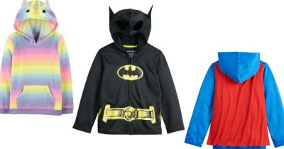 KOHL'S: Kids Character Hoodies From $5.99 (Regularly $25+)