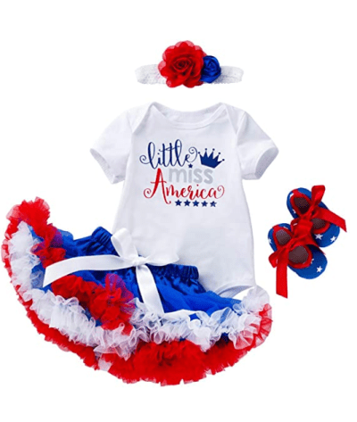 Amazon: 4th of July Baby Girls Dress Outfits, Just $19.99