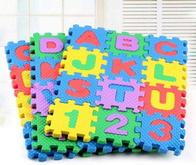 Amazon: Baby Kids Alphanumeric Educational Puzzle Foam Mats, Just $4.11 ( Reg. Price $20.55 )