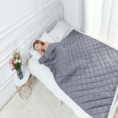 Amazon: Hypnoser Adult Weighted Blanket 60x80 20LBS, Just $39.99 ( Reg. Price $79.99 )