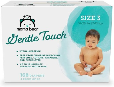 Amazon: Mama Bear Gentle Touch Diapers, Just $31.99