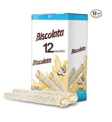 Amazon: Biscolata Nirvana Rolled Wafers For $1.97