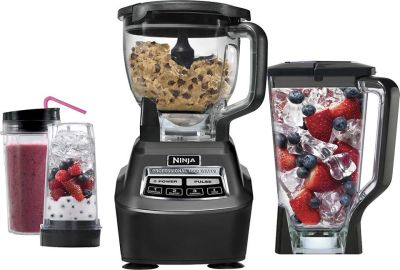 Best Buy: Ninja - Mega Kitchen System 72-Oz. Blender - Black $139.99 (Reg $199.99)