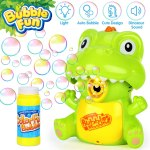 Amazon: 2in1 Bubble Blower w/ LED Light & Dinosaur Sound $8.54 ($20)
