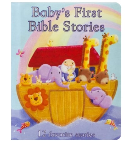 Amazon: Baby's First Bible Stories Board Book for $5.00 (Reg. Price $9.99)