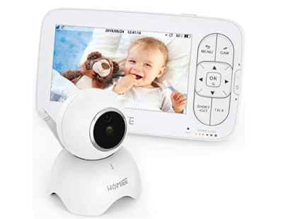 Amazon: Baby Monitor with Camera and Audio for $83.99 (Reg. Price $139.99)