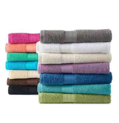 Kohl's: Basics Solid Bath Towel, Just $2.09