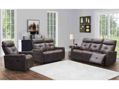 Sam's Club: Cambridge 3-Piece Reclining Sofa, Loveseat and Chair Set, Just $1,499.00 (Reg $2299.00)