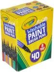Amazon: Crayola Washable Paint Brush Pens Only $23.19 (Reg. $41)